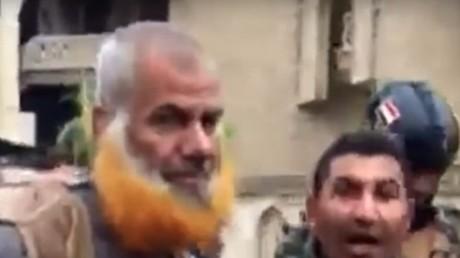 Photo présumée d'un cousin d'Abu Bakr Al-Baghdadi