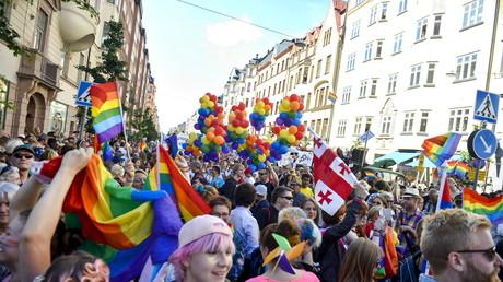 Gay-pride à Stockholm, 2015