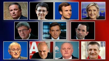 Présidentielle : onze candidats participeront à l'élection