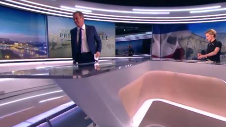 Dupont-Aignan quitte le JT de TF1 pour dénoncer l'exclusion des «petits candidats» du débat (VIDEO)