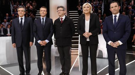 Cinq des candidats à l'élection présidentielle, sur TF1 le 20 mars