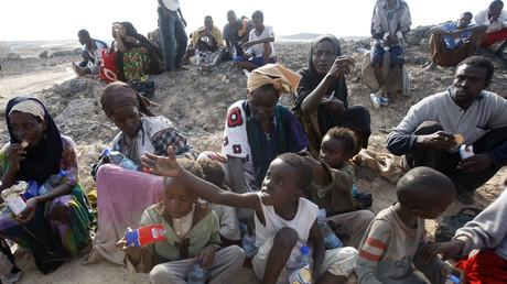 Des réfugiés somaliens débarquent sur les côtes yéménites (photographie d'illustration)
