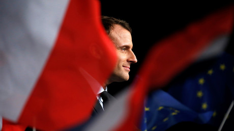 Le candidat de En Marche ! à l'élection présidentielle Emmanuel Macron