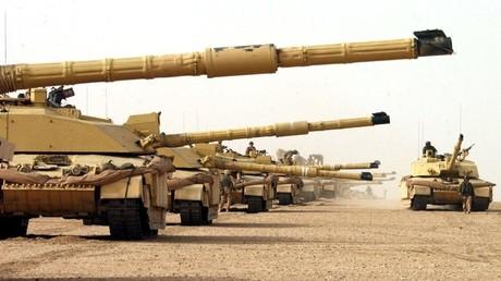 Des chars britanniques Challenger
