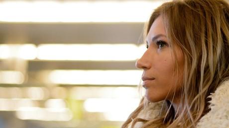 La candidate russe à l'Eurovision Ioulia Samoïlova