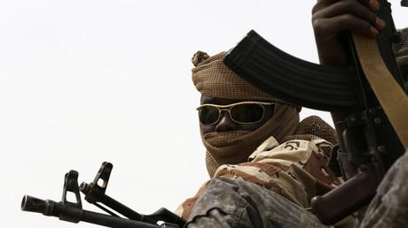 Un soldat tchadien