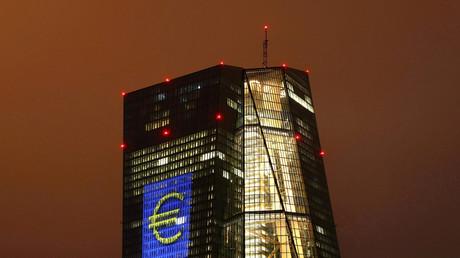 Le siège social de la BCE à Francfort