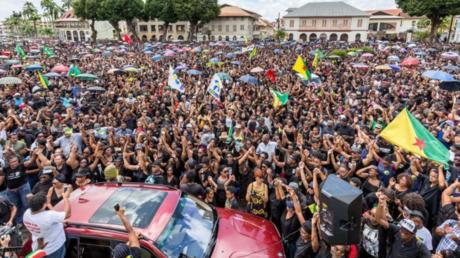 La Guyane a récemment connu les manifestations les plus importantes de son Histoire