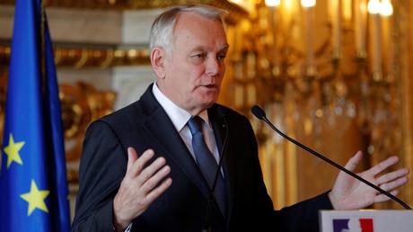 Le Premier ministre français Jean-Marc Ayrault