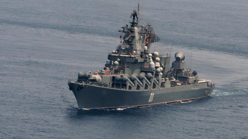 Des Navires Militaires Russes Et Am 233 Ricains Convergent