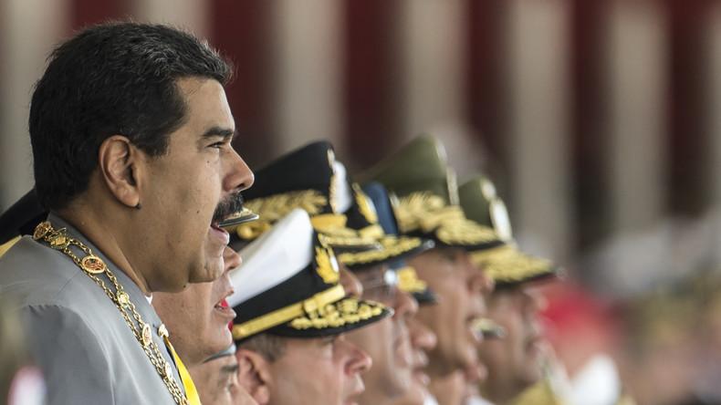Nicolas Maduro accuse Washington de «provoquer une intervention impérialiste» contre le Vénézuéla