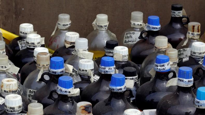 Des produits chimiques pouvant servir à confectionner des explosifs dérobés près de Paris