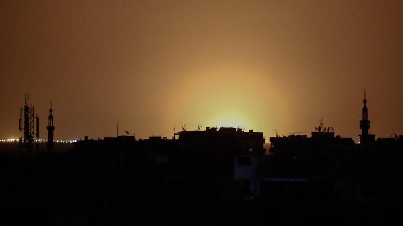 Syrie : un raid israélien aurait visé un dépôt d'armes du Hezbollah près de l'aéroport de Damas