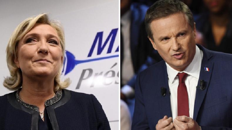 Marine Le Pen nommera Nicolas Dupont-Aignan Premier ministre si elle est élue