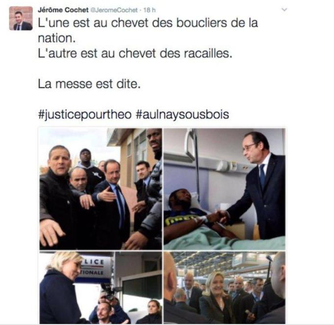 François Hollande récompense les policiers brûlés à Viry-Châtillon… trop tard ?