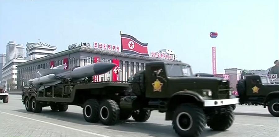 Pyongyang dévoile ses missiles balistiques mer-sol lors d'une parade militaire (PHOTOS, VIDEOS)