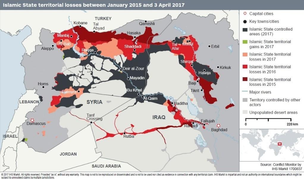 Selon une étude britannique, tout effort occidental visant à affaiblir Damas profite à Daesh