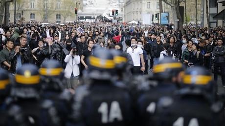 La manifestation pour Liu Shaoyao a dégénéré à Paris