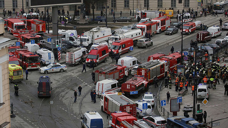 Saint-Pétersbourg, après l'explosion survenue le 3 avril dans le métro