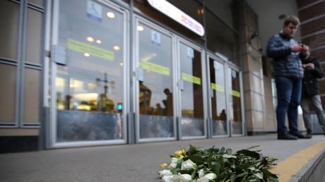 Station de métro où l'explosion a eu lieu à Saint-Pétersbourg