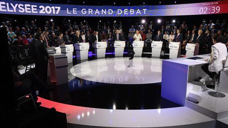 EN CONTINU : Les «petits candidats» pour la première fois face aux «grands» dans le débat à 11