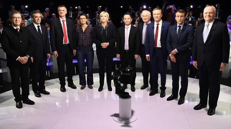 Les coups d'éclat des «petits candidats» à l'occasion de leur premier débat