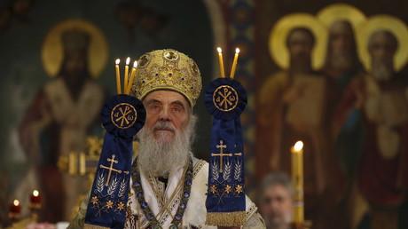 Le patriarche de l'Eglise orthodoxe serbe Irénée