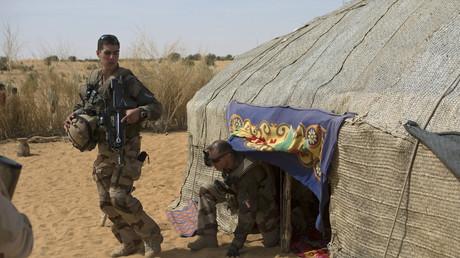Un soldat français participant à l'opération Barkhane au Mali