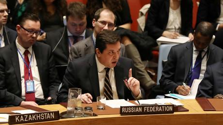 Le vice-ambassadeur russe Vladimir Safronkov