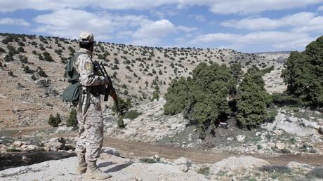 Un combattant du Hezbollah