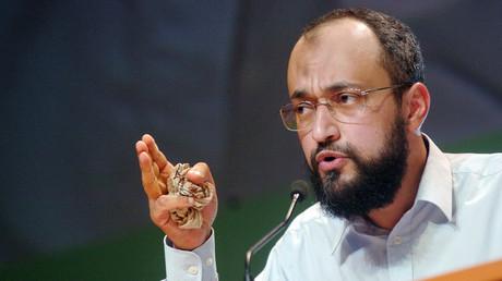 Hani Ramadan lors d'une conférence au Bourget en 2007