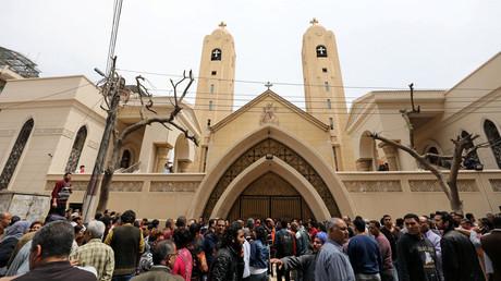 L'église Mar Girgis de Tanta