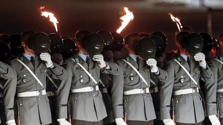 Photo d'archive de soldats allemands