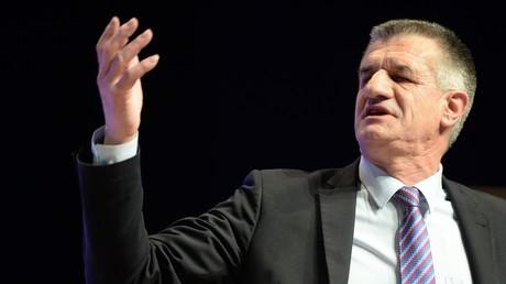 Candidat à l'élection présidentielle Jean Lassalle