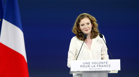 Nathalie Koscisuko-Morizet copieusement sifflée lors du meeting de François Fillon (VIDEO)
