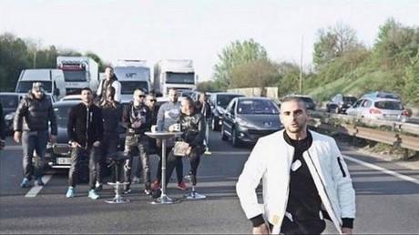 Le rappeur Fianso bloque l'autoroute pour son nouveau clip : une enquête ouverte