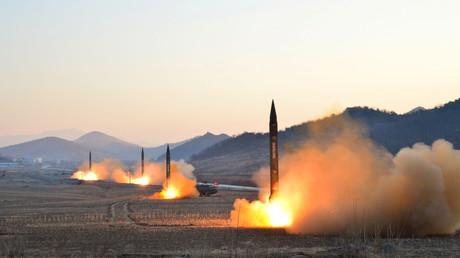 Pyongyang promet de répondre au déploiement «insensé» de la marine américaine