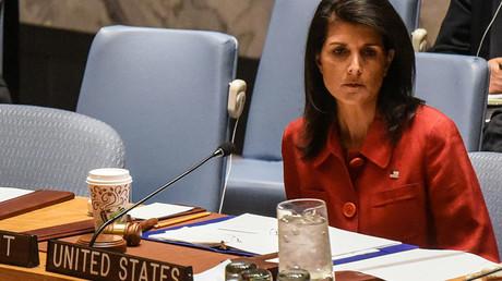 Nikki Haley, ambassadrice des Etats-Unis à l'ONU.