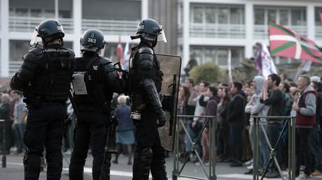 Manifestation contre la venue de Marion Maréchal-Le Pen à Bayonne (PHOTOS, VIDEOS)