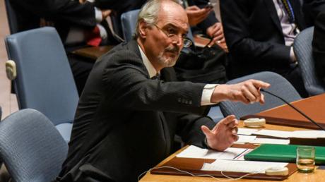 Le représentant permanent de la Syrie auprès de l'ONU Bachar el-Jaafari