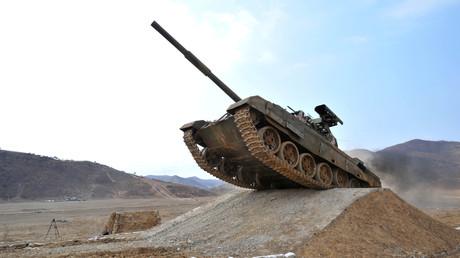 Un char nord-coréen