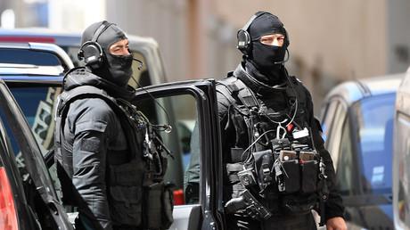 Des membres du RAID à Marseille le 18 avril