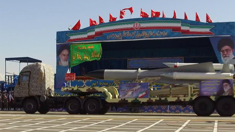 La parade militaire du 18 avril à Téhéran