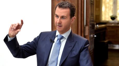 Le président syrien a produit un récit très différent de la narration occidentale à propos de l'attaque chimique présumée qui aurait frappé la ville de Khan Cheikhoun le 4 avril