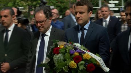 Macron commémore le génocide arménien pour sa première apparition d'entre-deux-tours (VIDEO)