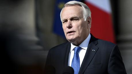 Le ministre des Affaires étrangères Jean-Marc Ayrault