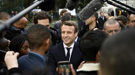 Macron victime de «fake news» sur le rôle de la Russie et de RT dans les élections