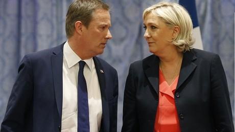 Nicolas Dupont-Aignan, nouvel allié de Marine Le Pen dans la course à la présidentielle
