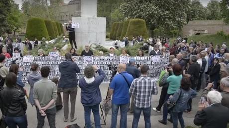 Une manifestation a eu lieu à Belgrade