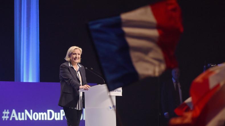 Meeting de Marine Le Pen à Villepinte
